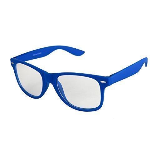 de muelle calidad Gafas 101 Retro Unisex a Azul estera goma con varios Sol de De De Bisagra Gafas Alta Modelos elegir Vintage Transparente colores Nerd Znxwaq7ad