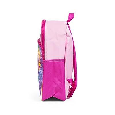 Belle, Ariel and Rapunzel Princess Pink 12 Inch Toddler Backpack School Bag | Kids' Backpacks