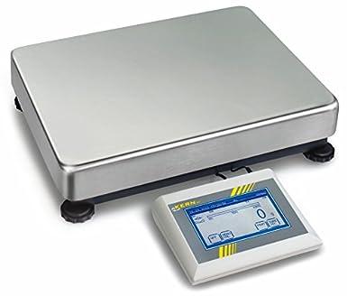 Balanza de plataforma [Kern IKT 12K2M] Balanza de plataforma de pantalla táctil con multiples