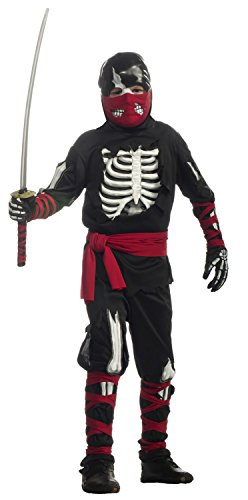Halloween Sensations Child's One Dead Ninja Costume, -