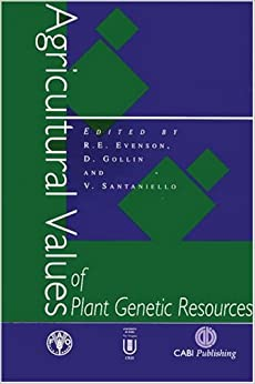 Agricultural Values of Plant Genetic Resources (Cabi)