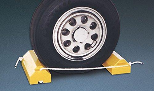 Aircraft Chocks - AC6800 Series; Length: 14''; Width: 6''; Height: 4''; Lanyard: 36''; Color: Yellow