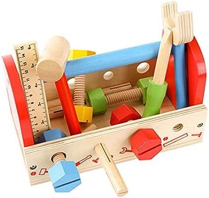 Baby Block Toys Caja de herramientas para niños Juego de juguetes ...