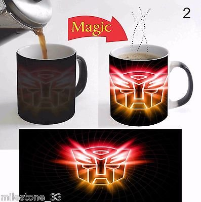 MileStone Transformers Movie Logo Color Change Magic Mug ...