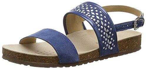 Geox D Zayna B - Sandalias Mujer Azul - azul (DENIMC4008)