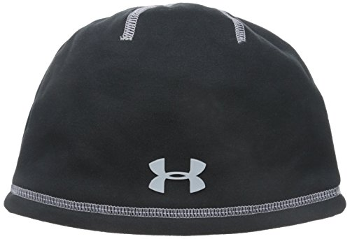 Under Armour Little Boys' UA Elements 2.0 Beanie, Black, 4-7