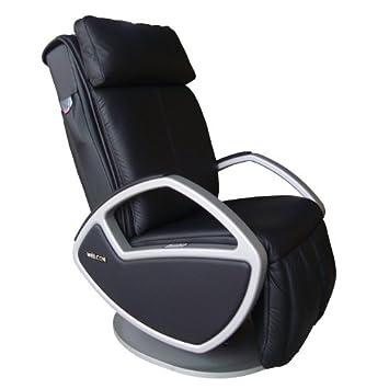 Design Massagesessel Massagestuhl Leder Schwarz Mit Shiatsu