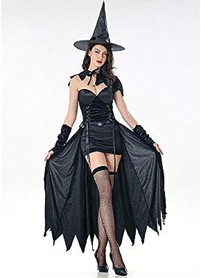 YXRL Disfraz De Bruja Sexy De Halloween Cosplay Disfraz De Bruja ...