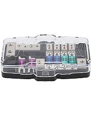 4 Way Car Audio Stereo ANL Blade Fuse Holder Distribution Blocks 0/4GA Fuses Box Block 30A 60A