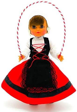 Amazon.es: Folk Artesanía Muñeca Regional colección de 35 cm con Vestido típico Vasca (Pais Vasco) España..: Juguetes y juegos