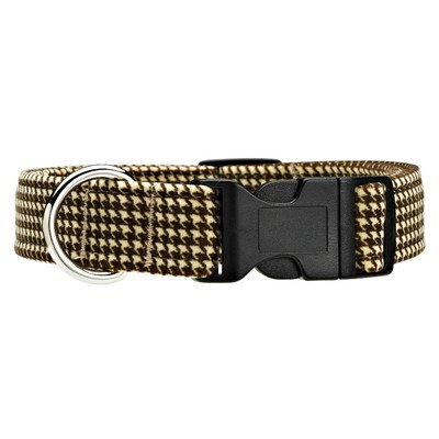 Dog Collar Size: Medium, Color: Houndstooth