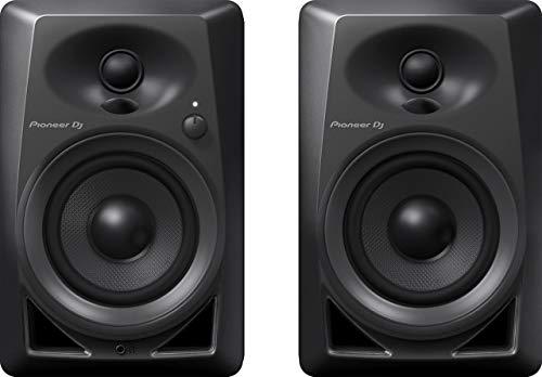 Pioneer Pro DJ Studio Monitor, RCA, Mini-Jack, Black (DM40) (Renewed)