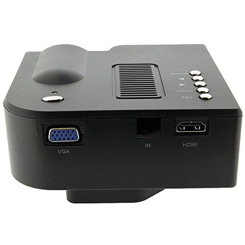 Best hotso portable hd led projector home theater pc for Hd portable projector reviews