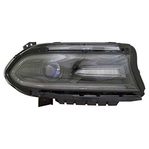 TYC 20-9695-90 Replacement Right Head Lamp for Dodge Charger