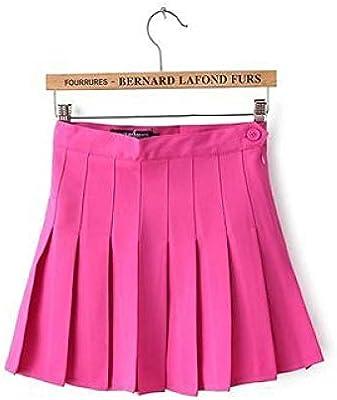 HAHAQZ Rosa Roja En Las Faldas De Las Mujeres Señoras Kawaii ...