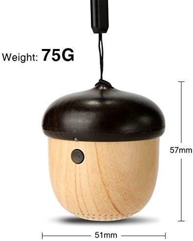JS J2 Acorn Nut Shaped Ultra-Portable Wireless Bluetooth Speaker, Ideal