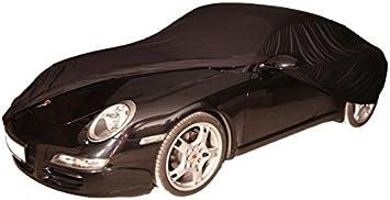 Autoabdeckung Soft Indoor Car Cover Stretch Delux Autogarage Faltgarage Premium Auto