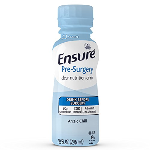 Impact Recovery - Ensure Pre-Surgery, Clear Nutrition Drink, Arctic Chill,10FL OZ , 4 Count