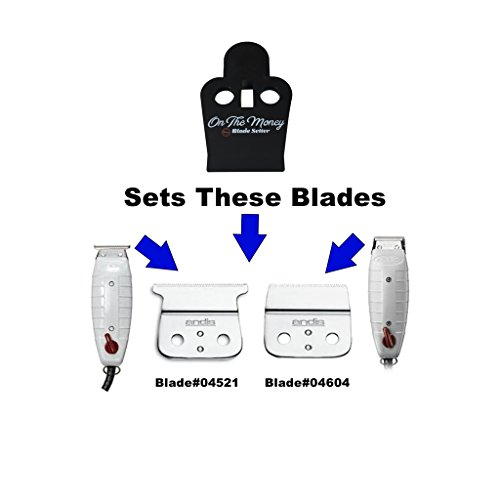 Blade Modifier + Blade Setter Combo Set (Compatible with Andis T-Outliner & Outliner II Blades) - The Key to Sharper Lines & Closer Shaves by The Rich Barber (Image #3)