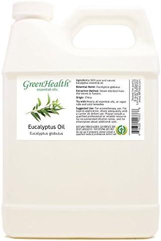 Eucalyptus 100 Pure Therapeutic Grade Essential Oil 32 fl oz Greenhealth Free Shipping