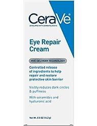 CeraVe Eye Repair Cream 0.5 oz for Dark Circles Under Eyes an...