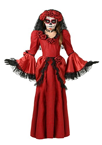 Girl's Day of the Dead Costume Large -