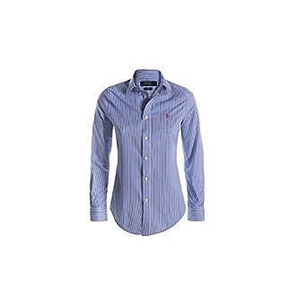 Polo Ralph Lauren. Camisas - Rayas - Clásico - para mujer azul ...