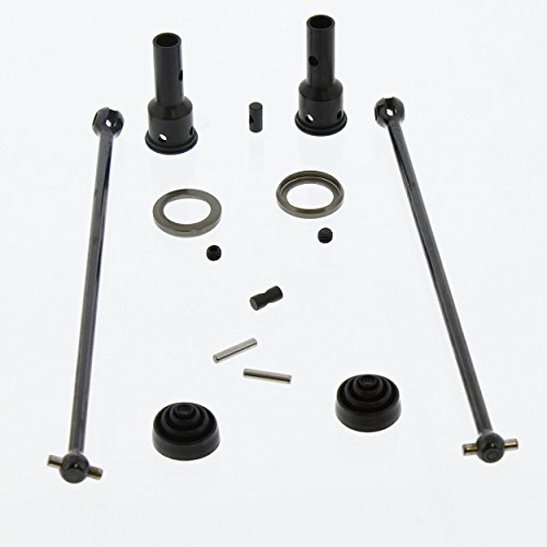 Team Losi 8IGHT-T 4.0 Truggy 1/8: Front/Rear DriveShafts/Dogbones, Axles & Boots (Team Losi 8ight Rear)