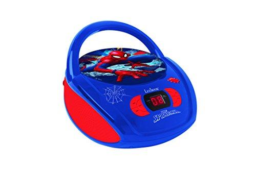 LEXIBOOK RCD108SP Radio CD Player Spiderman