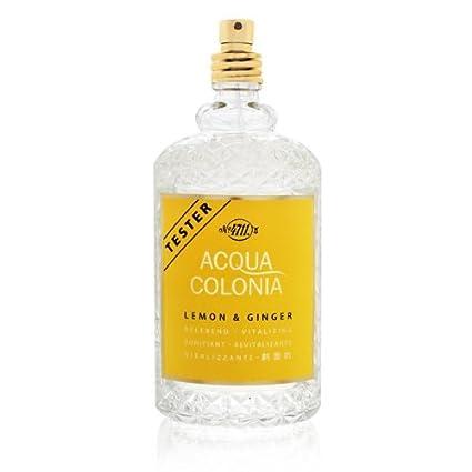 4711 ACQUA COLONIA Lemon & Ginger by Maurer & Wirtz Eau De Cologne Spray (Unisex