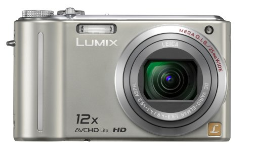 Panasonic Lumix DMC-ZS3 10MP Digital Camera with 12x Wide Angle MEGA Optical Image Stabilized Zoom and 3 inch LCD (Silver) ()
