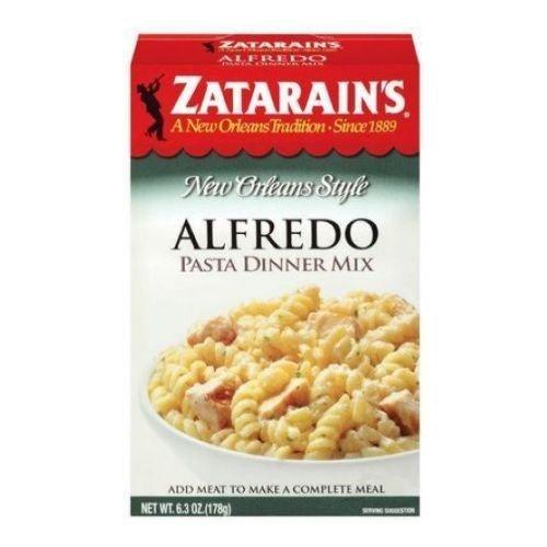 Alfredo Pasta Dinner - Zatarain's New Orlean's Style Alfredo Pasta Dinner Mix 6.3 Oz (Pack of 16)