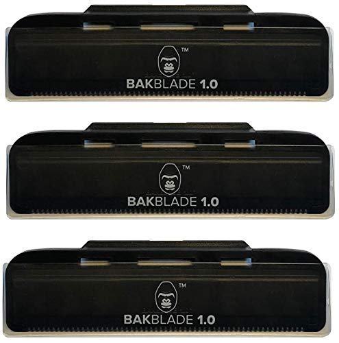 "BaKblade 1.0 ""Bigmouth"" Back Hair & Body Shaver Refill R"