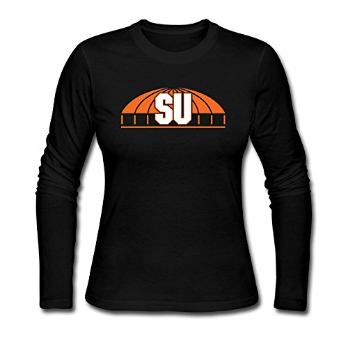 Qinglong81 Syracuse University Womens Tshirts Pre-cotton Novelty (Morphsuits For Women)