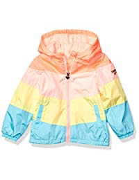 OshKosh B'Gosh Girls Midweight Jacket with Fleece Lining Jacket