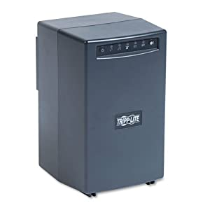 UPS System AVR, 8 Outlets, 1500VA, Backup Time 75Min, Black