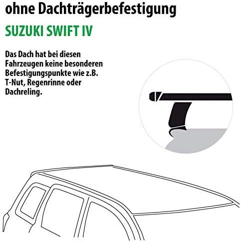 Rameder Komplettsatz Dachträger Tema Für Suzuki Swift Iv 118769 08994 10 Auto