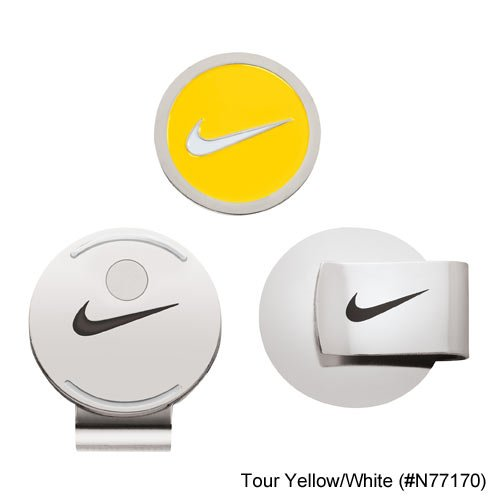 Clip Ball Marker Yellow White