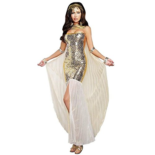 Queen Nefertiti Goddess Womens Sexy Halloween Costume