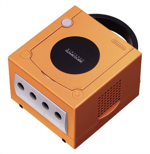 Nintendo Gamecube Console - Spice Orange (Japanese Import) (Best Japanese Gamecube Games)