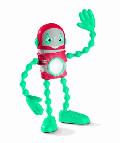 Little Tikes Action Robot Flashlight - Red-bot