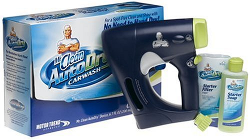 - Mr. Clean AutoDry Car Wash System Starter Kit
