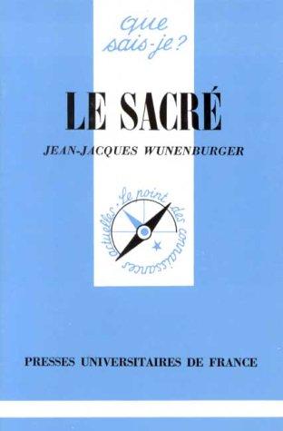 LE SACRE. 3ème édition