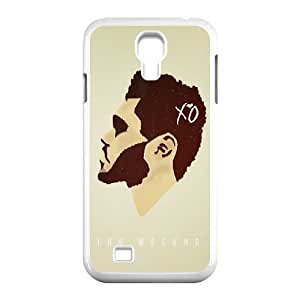 HXYHTY Customized The Weeknd XO Pattern Protective Case Cover Skin for Samsung Galaxy S4 I9500