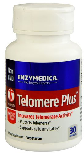 Enzymedica Telomere Plus -- 30 Capsules - 3PC by Enzymedica