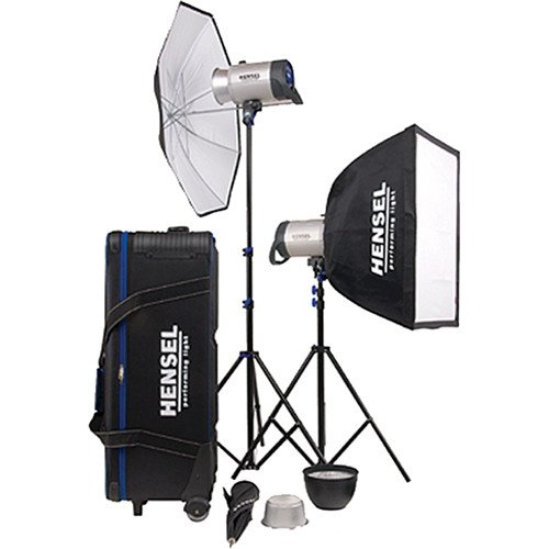 Hensel Integra 500 2 Light Kit with Stands & Accessories ()
