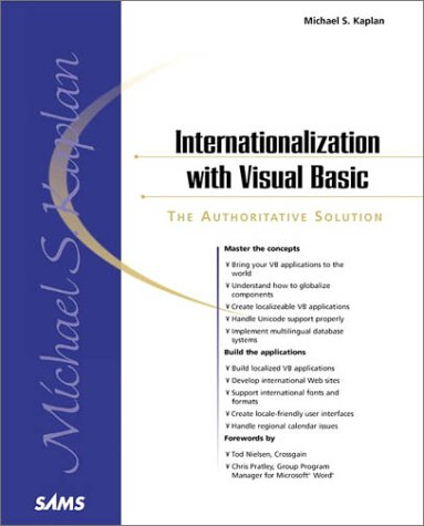 Internationalization With Visual Basic (Sams White Book Series) by Brand: Sams