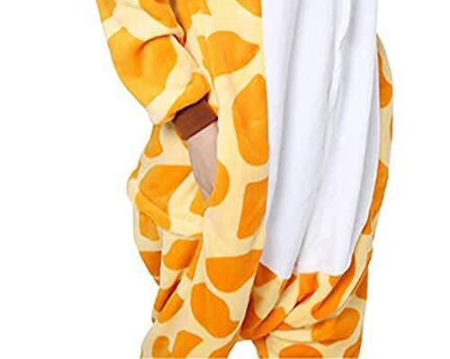 Cartone Lunga Animato Da Inverno SHANGXIAN Notte Biancheria Per Kigurumi Donne Adulto XL Pigiama Uomini Pigiama Manica Flanella Giraffa Coppia Animale Cappuccio n4vWCpZwW6