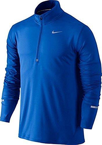 Nike Mens Dri-Fit Element Half Zip - Medium - Paramount Blue