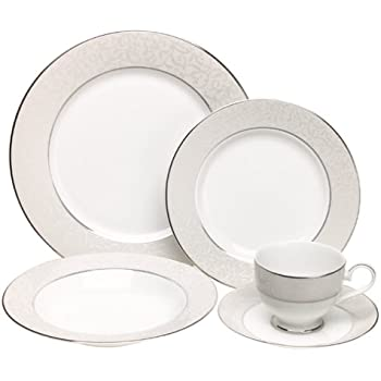 Mikasa Parchment 5-Piece Place Setting Service for 1  sc 1 st  Amazon.com & Amazon.com | Mikasa Parchment 5-Piece Place Setting Service for 1 ...